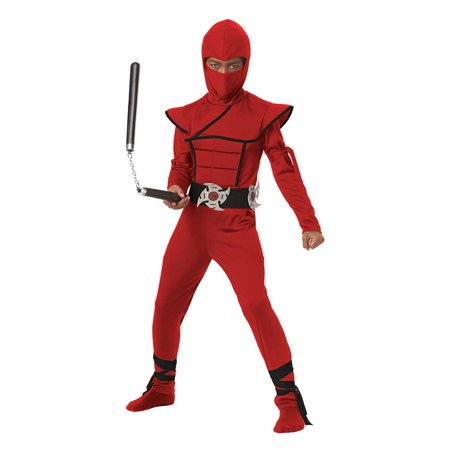 Child Stealth Ninja Boy Costume by California Costumes 00397 (Ninja Costume For Boy)