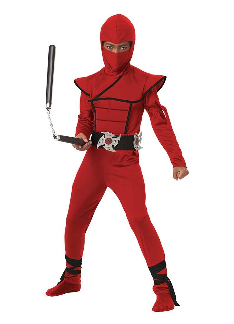 Child Stealth Ninja Boy Costume by California Costumes 00397