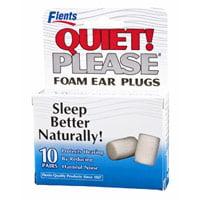 Flents Quiet Please Foam Ear Plugs - 10 Pair
