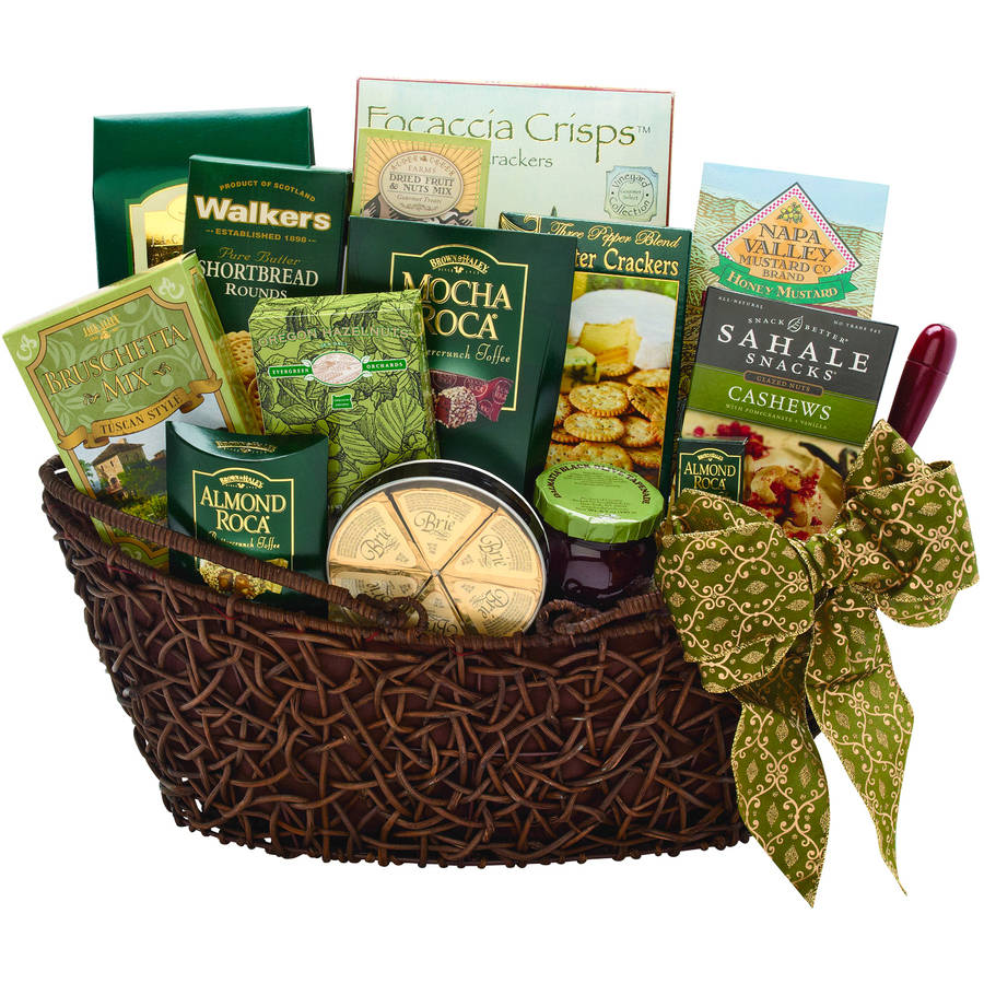 Alder Creek Gourmet Treats Gift Basket, 16 pc