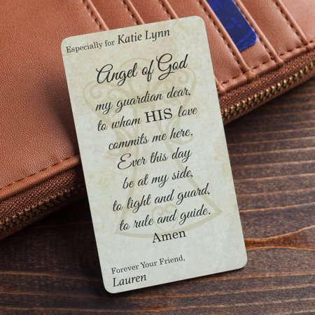 Personalized Wallet Prayer Card For Her ()
