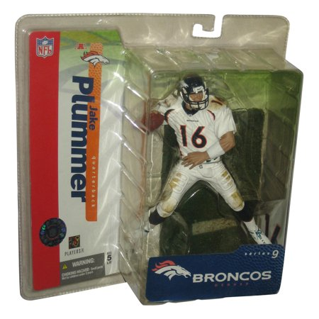NFL Football Jake Plummer Series 9 McFarlane Toys Figure w/ White Jersey