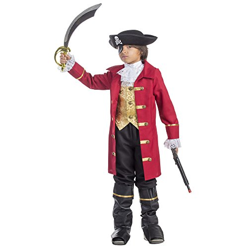 Elite Boy's Pirate Costume Size Large 12-14 by Dress Up America