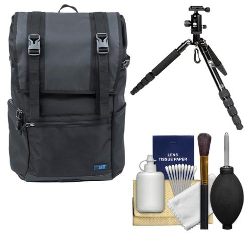 Sirui Weekender DSLR Camera Backpack Case with Tripod   Cleaning Kit