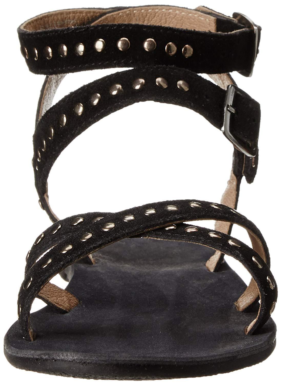 Rebels Women's Char Dress Sandal, Black, Size 6.0