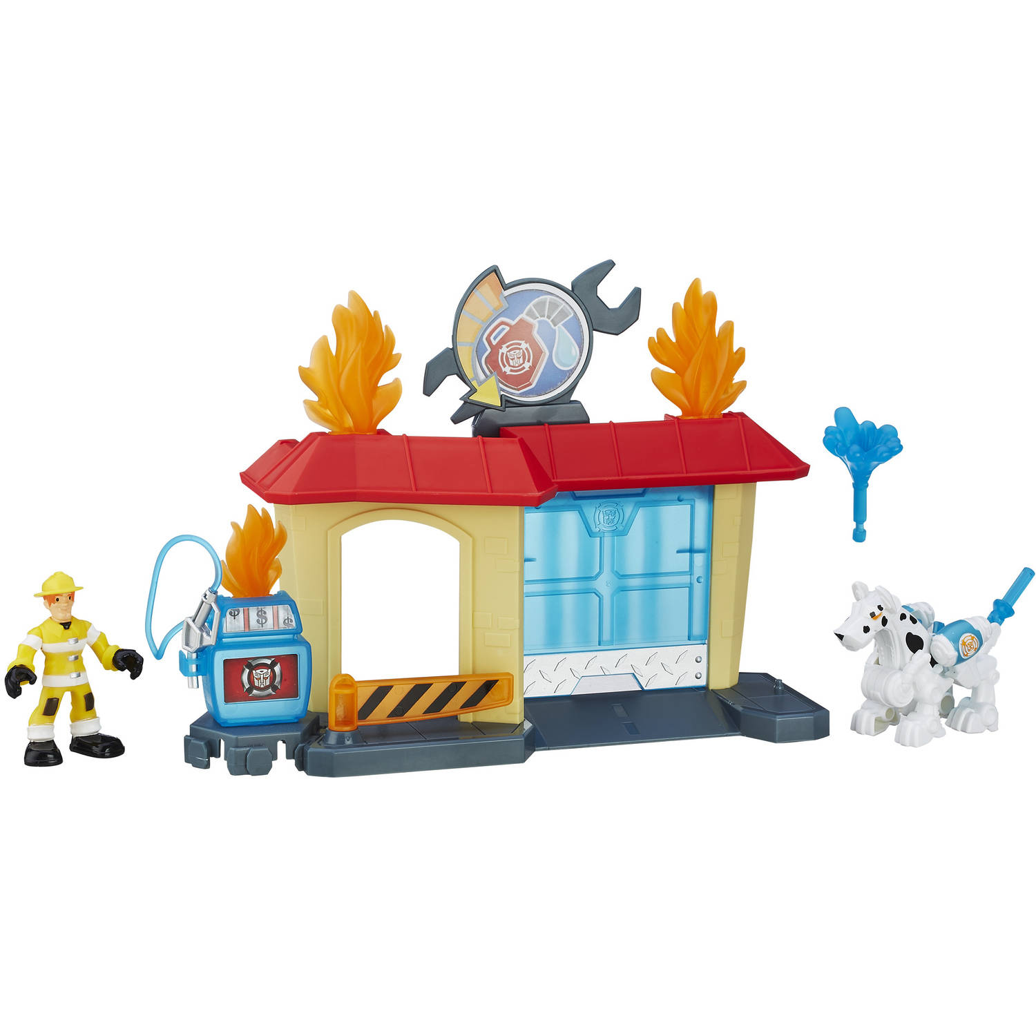 Playskool Heroes Transformers Rescue Bots Griffin Rock Garage by Hasbro