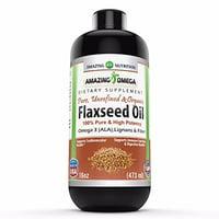Amazing Omega Omega Flaxseed Oil 16 Fl Oz - 16