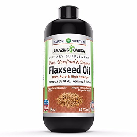Amazing Omega Omega Flaxseed Oil 16 Fl Oz - 16