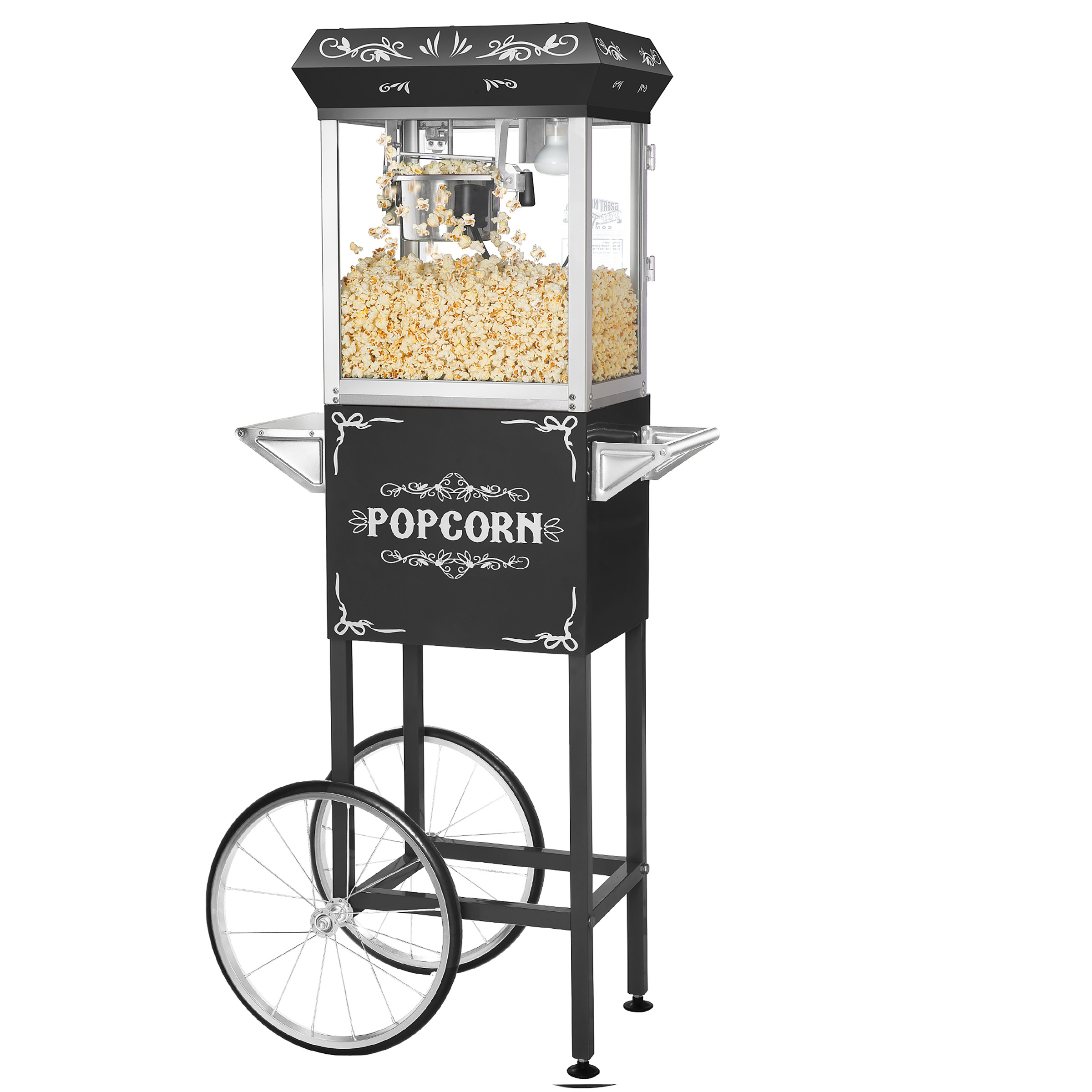 Foundation Top Popcorn Popper Machine, 6 Ounce by Great Northern Popcorn