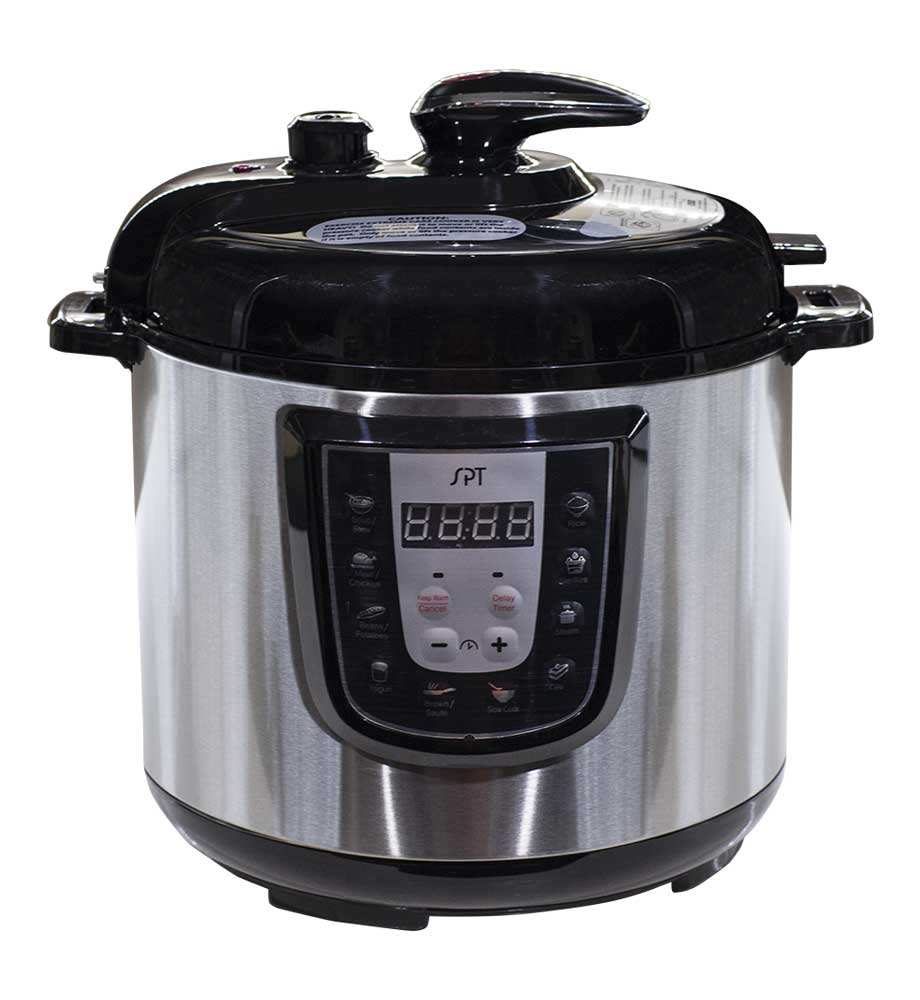 Sunpentown 6-Quart Stainless Steel Electric Pressure Cooker