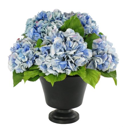 Footed Urn - Jane Seymour Hydrangeas in Footed Urn