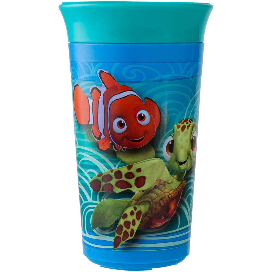 The First Years Disney/Pixar Finding Nemo Simply Spoutless Cup, BPA-Free - 9 oz
