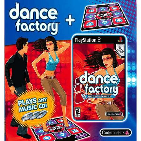 Dance Factory Game   Mat Bundle   Playstation 2