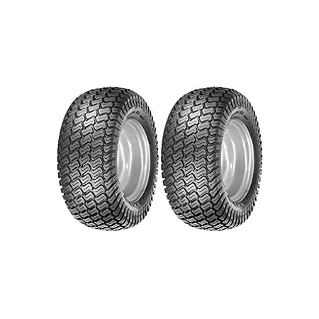 Oregon Pair of 4 Ply Lawn Mower Garden Turf Master Tread Tires for Tractors 15-6.00-6,