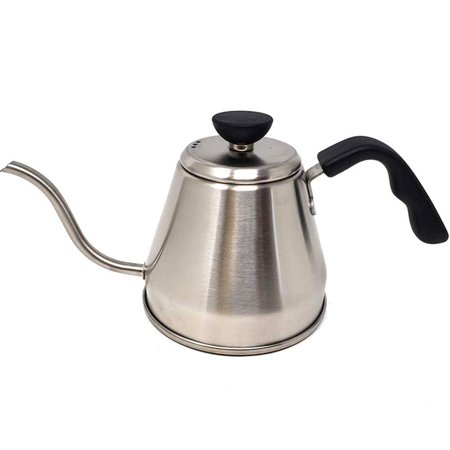 Pour Over Gooseneck Kettle Premium Stainless Steel Coffee Tea Maker Dripper Stove Top Home Brewing, Camping, Traveling - Barista Quality 1.2
