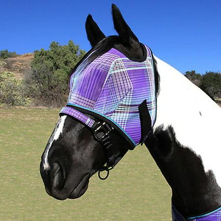 Kensington Fly Mask with Web Trim Large Lavender M
