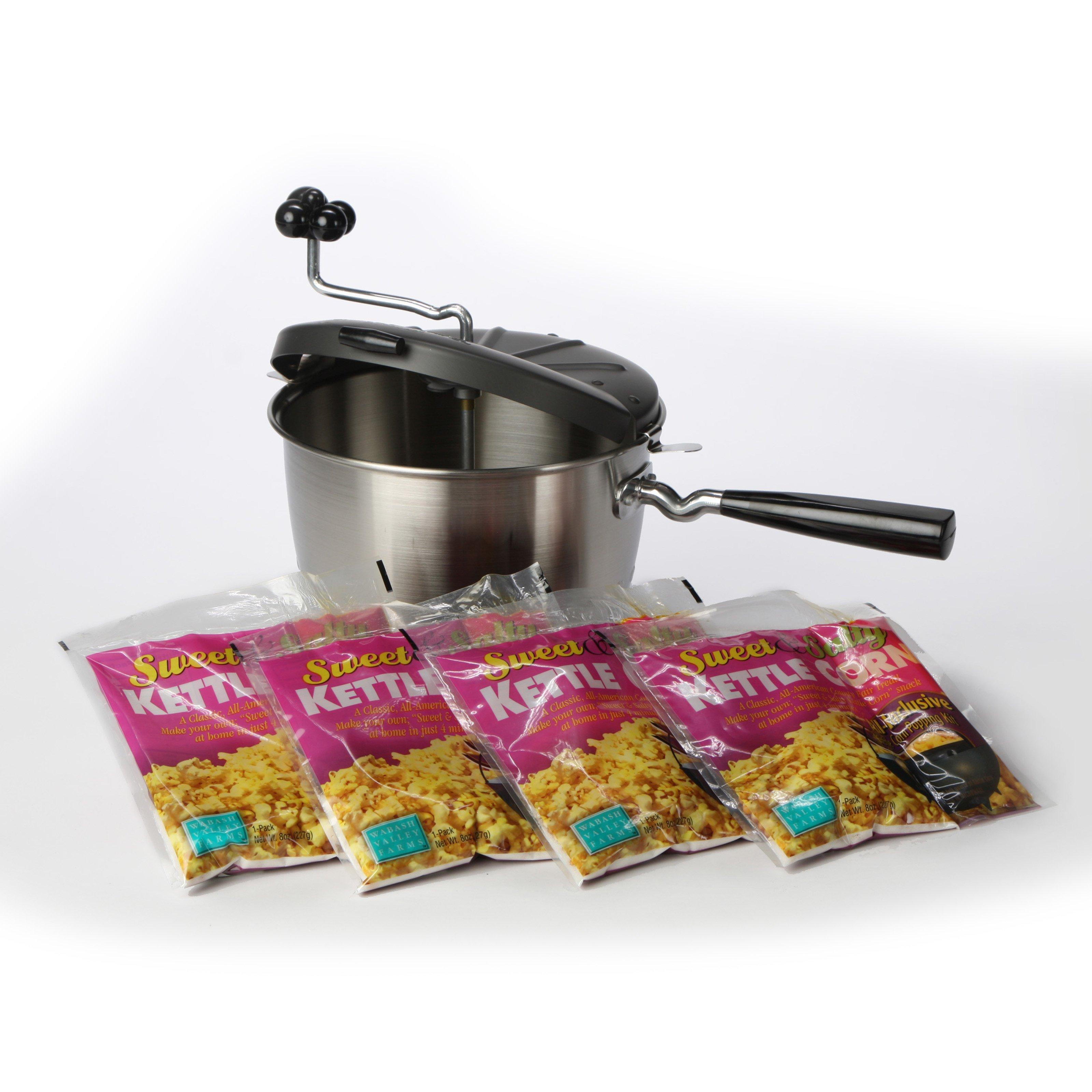 Wabash Valley Farms 50018 Sweet & Easy Kettle Corn Set