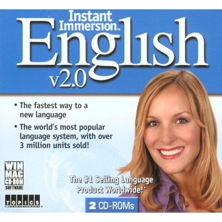 Instant Immersion English 2 0  French English  For Windows And Mac