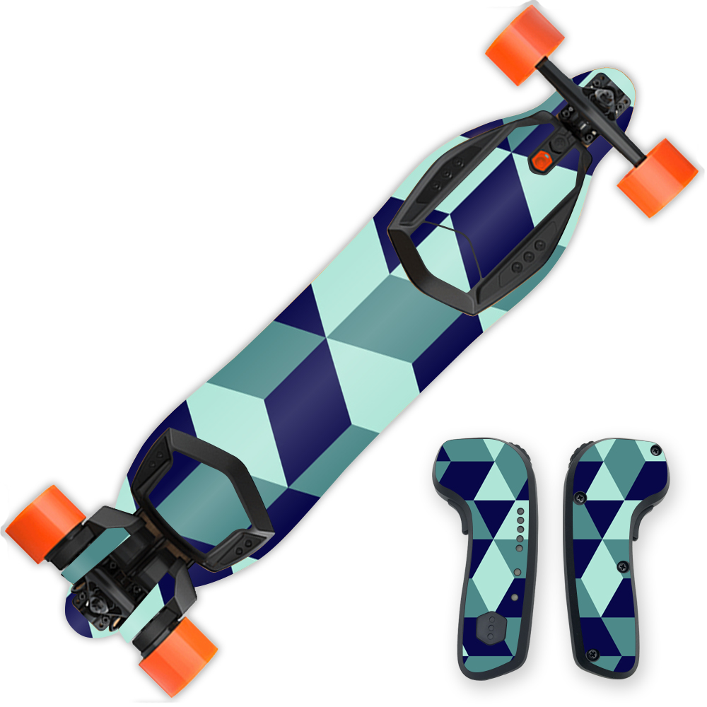 MightySkins Protective Vinyl Skin Decal for Boosted Board...