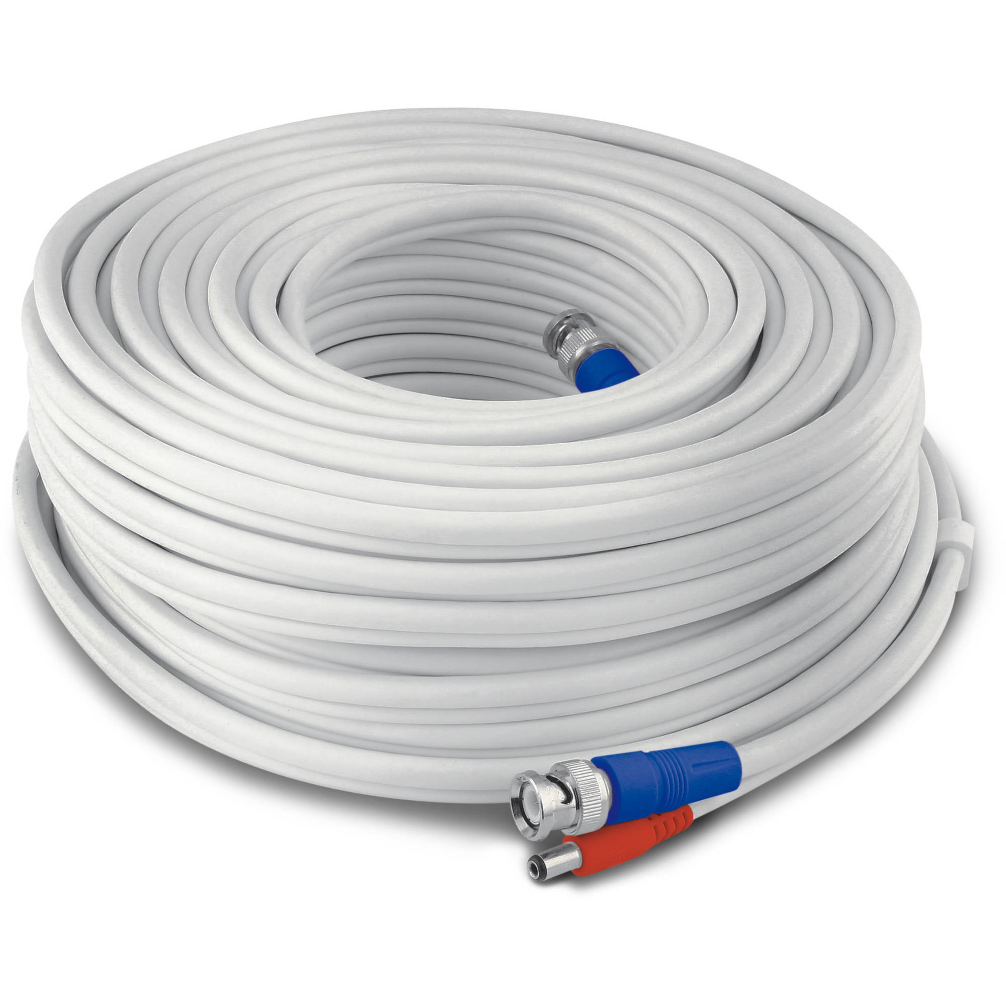 Walmart ONN BNC Security Cable, 75'