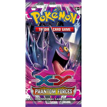 Pokemon XY Phantom Forces Booster Pack (Mega Pokemon Booster Packs)