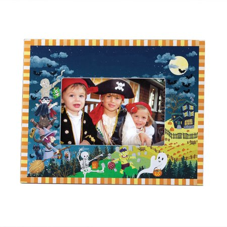 Haunted Party Halloween Photo Frame - Halloween Cluster Frames