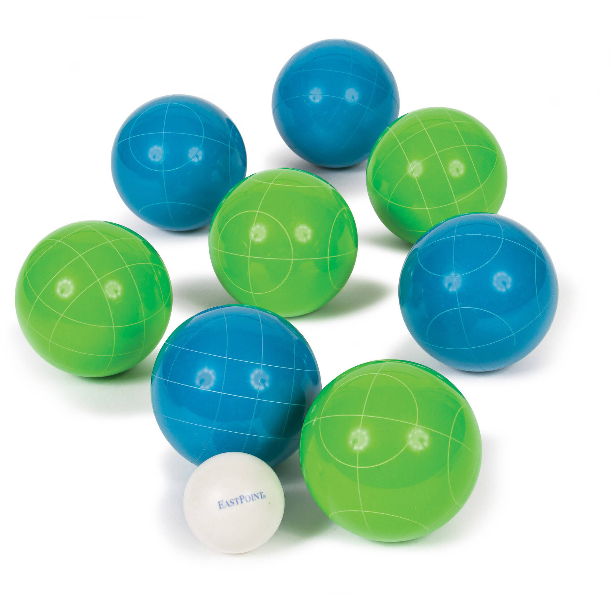 EastPoint Sports Premium 90mm Resin Bocce Lawn Game with Carrier