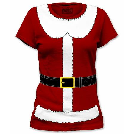 Santa Claus Suit Junior Women