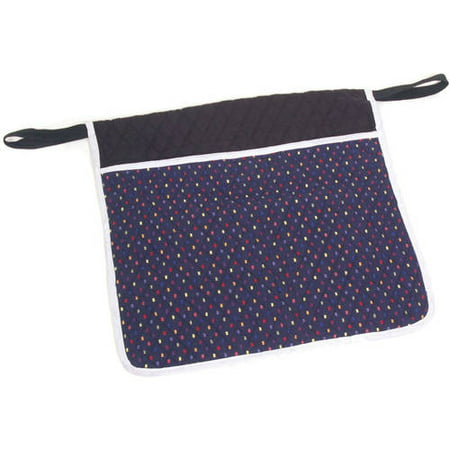 Essential Medical Supply Deluxe Quilted Pouch for Walkers, Wheelchairs and  More