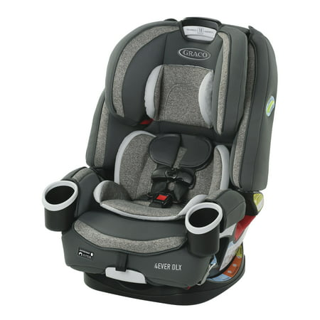 Graco 4Ever DLX 4-in-1 Convertible Car Seat, Bryant Gray