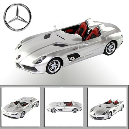 "11"" 1:12 Mercedes-Benz SLR Silver MBSLR12S R C Radio Control Car (Gift Idea) RC Car R... by"