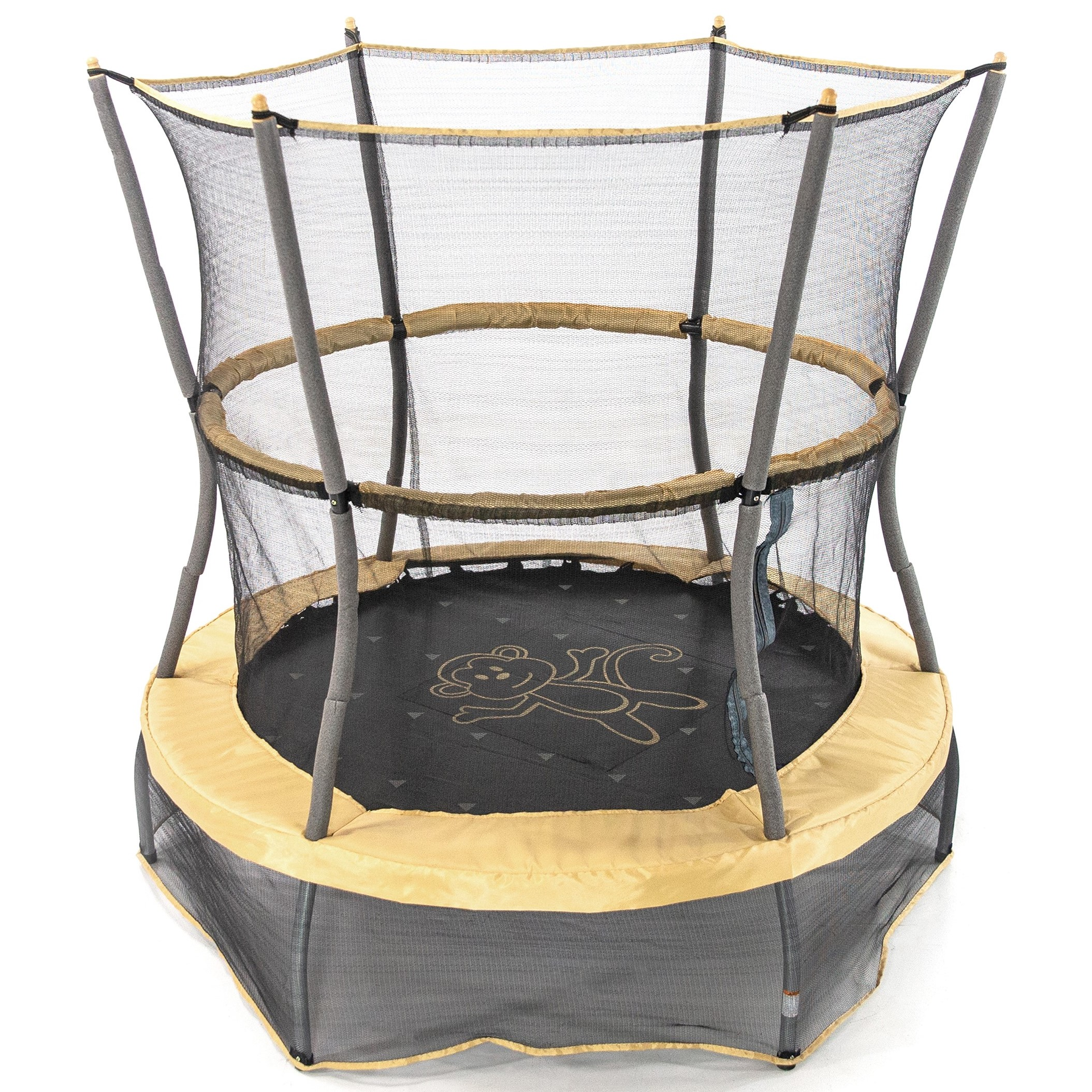 Skywalker Trampolines 55-Inch Bounce-N-Learn Trampoline with Enclosure and Sound