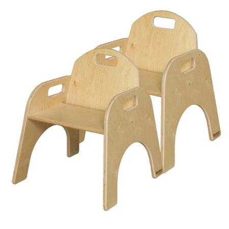 Wood designs wood classroom chair set of 2 for School chair design