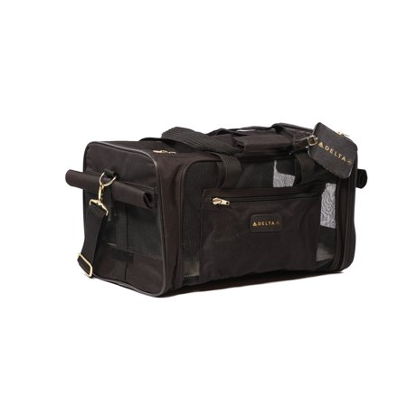 033c153bc6 Sherpa® Travel Delta® Air Lines® Airline Approved Pet Carrier, Medium, Black