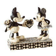 "Disney Traditions by Jim Shore Mickey and Minnie Mouse Figurine ""Real Sweetheart"" (4009260)"
