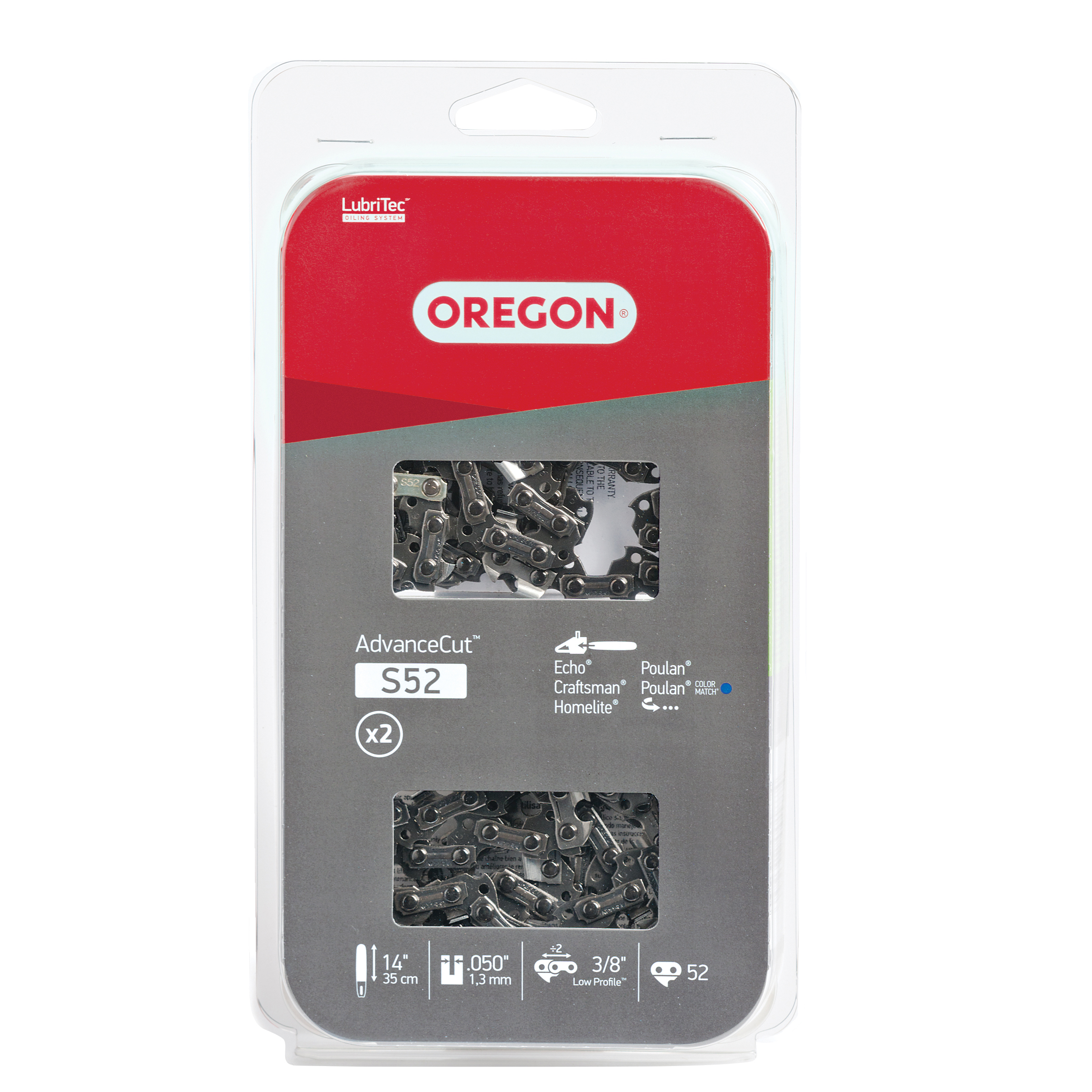 """Oregon S52T 14"""" AdvanceCut Saw Chain"""