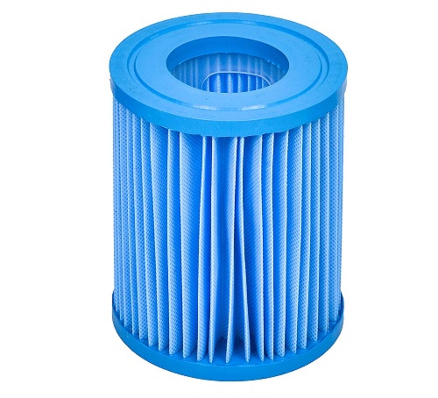 """5.5"""" Blue Inorganic Antimicrobial Swimming Pool Replacement Filter Core Cartridge"""