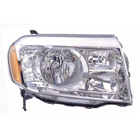 2009-2011 Honda Pilot Aftermarket Passenger Side Front Head Lamp Lens and Housing 33100SZAA01 CAPA