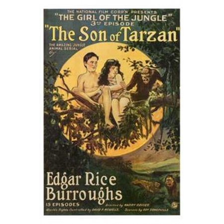 The Son of Tarzan c1920 - style A Movie Poster (11 x 17)