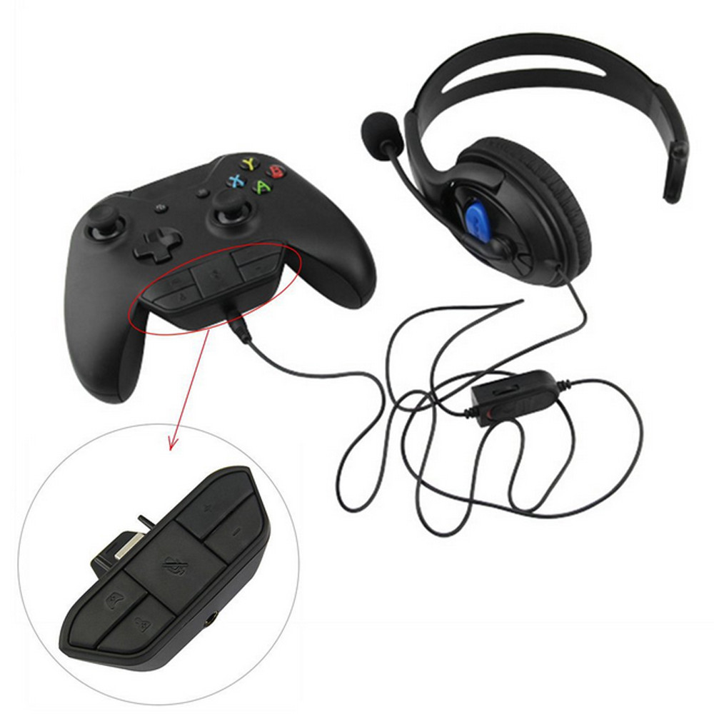 Outtop Stereo Headset Headphone Audio Game Adapter For Microsoft