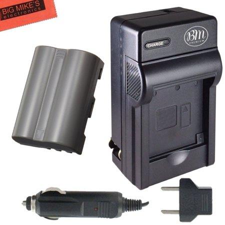 EN-EL3e Battery And Battery Charger for Nikon D90, D200, D300, D300S, D700, Digital SLR Camera