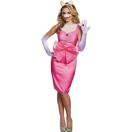 Miss Piggy Deluxe Women's Adult Halloween Costume (Miss Piggy Dog Costume)