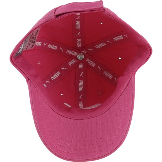 40b754cb1a1 Puma - Puma Girl s Youth Evercat Podium White Pink Cotton Baseball Cap Hat  - Walmart.com