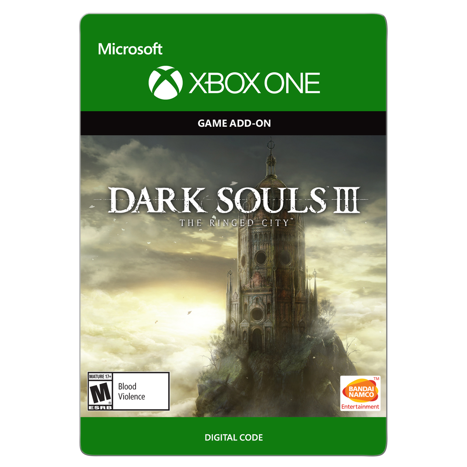 Xbox One Dark Souls III: The Ringed City (Email Delivery)