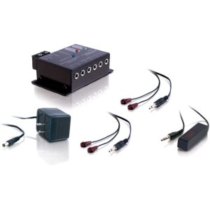 REMOTE CONTROL REPEATER KIT 4 EMITTERS EXPANDABLE