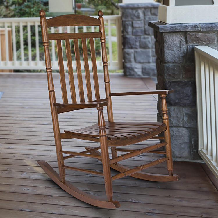 Shine Company Rhode Island Porch Rocker - Oak