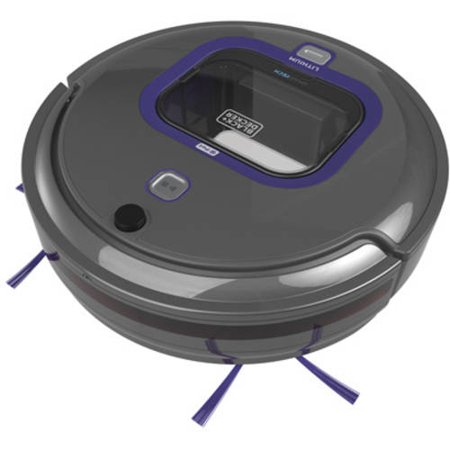 Black And Decker Smartech Pet Lithium Robot Vacuum With