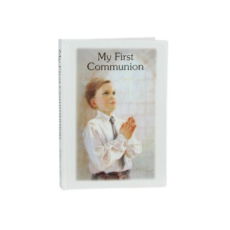 Religious My First Communion Boys Prayer & Remembrance Book Gift #10248 (First Communion Prayers)