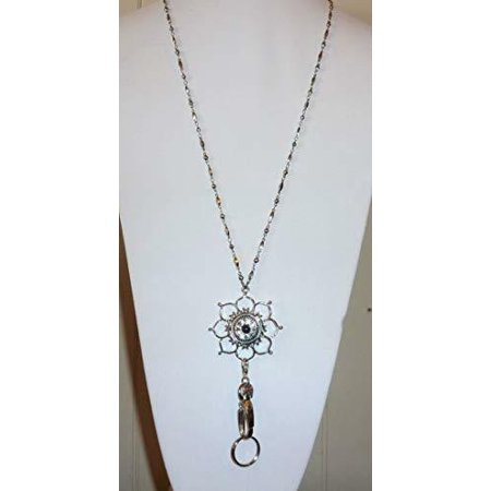 Snap Jewelry Lanyard (Flower) Women's Fashion Lanyard 34