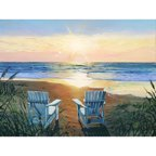 Printfinders 'Days End Duo' by Scott Westmoreland Graphic Art on Canvas